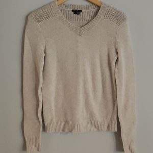 Theory Fiana Sweater Stone Grey New wool Petite